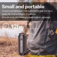 fm tf New TG117 Bluetooth Outdoor Speaker Portable Wireless Speaker Waterproof Loudspeaker Support TF Card USB FM Radio Music Player (4)