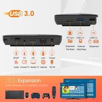 ram 32g VONTAR X3 8K Amlogic S905X3 4GB RAM 64GB טלוויזיה Box Android 9.0 Set Top Box 1000M Dual Wifi 4K Youtube נטפליקס Smart TV Box 4G 32G (4)