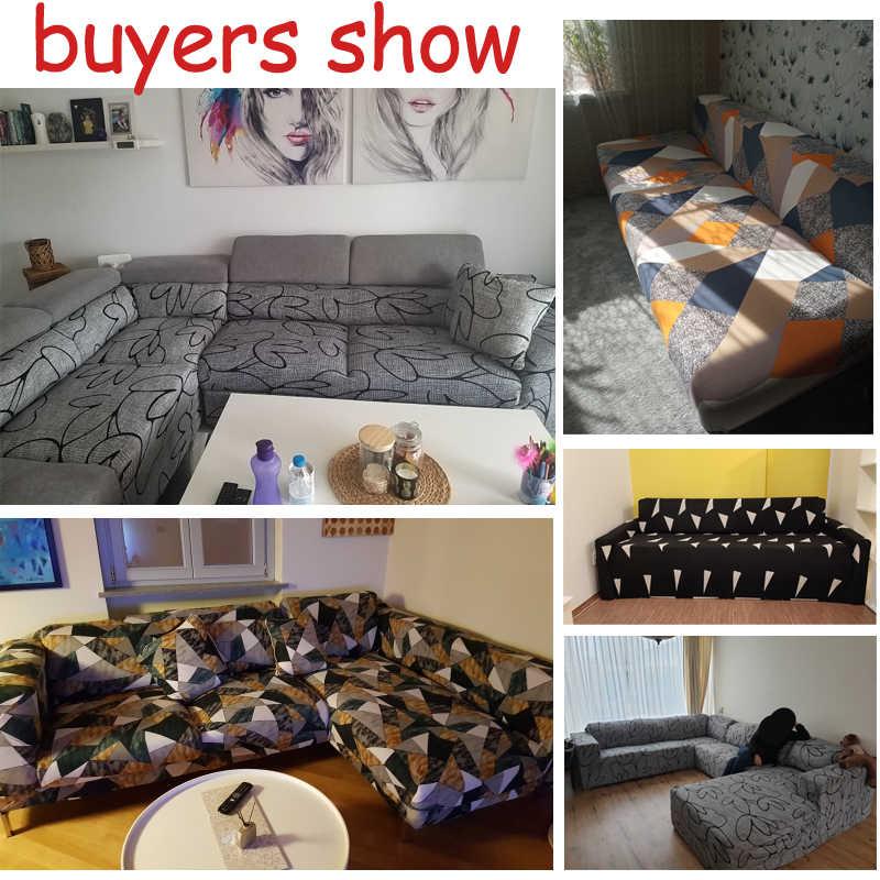 Эластичный чехол для дивана, все включено, чехол для дивана разной формы, диван для влюбленных стульев, L-style, чехол для дивана