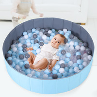 Inflatable Ball Pool Hole Children Folding Pool Indoor Oceans Toy Unisex Game House Ball Pools Mainland China