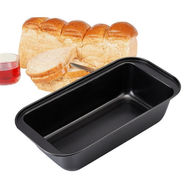 IVYSHION Carbon Steel Toast Bread Mold Rectangle Cake Mold DIY Cake Non Stick Pan Baking Supplies Loaf Pastry Baking Bakeware