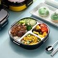 ONEUP Ланч-бокс из нержавеющей стали для Детское питание контейнер с подогревом Lancheira Termica кухонные аксессуары Bento Box Meal Prep comida