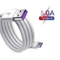 Câble 5A USB type-c Original pour recharge rapide et transfert de données, cordon de chargeur usb-c pour Redmi 10X, Huawei P20 Pro, Mats 20 Pro, Honor V10
