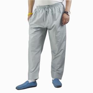 Image 4 - Pantalones Abaya para hombre, ropa árabe musulmana islámica, pantalones de Ramadán, Arabia Saudita, Mubarak, Pakistán, pantalones de algodón holgados de pierna ancha