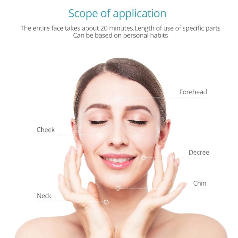 EMS RF soin de la peau propre serrer levage du visage LED Photon radiofréquence beauté masseur Machine rajeunissement de la peau Anti rides - 5