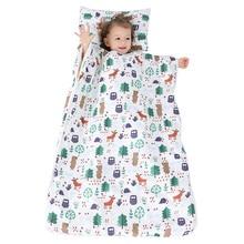 Kid Nap Mat Toddler Cotton Pad for Preschool Daycare Kindergarten Travel Removable Pillow Sleeping Bag