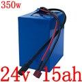 24V 15Ah литиевая батарея 15Ah 24V 250W 350W батарея скутера 24V 10Ah 12Ah 13Ah 15Ah батарея электрического велосипеда с зарядным устройством 2A