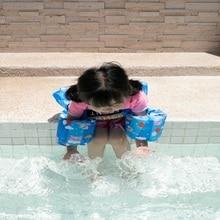 Vest Life-Jacket Swimming-Sleeve Toddler Children's Ring Floating-Arm Swim-Equipment