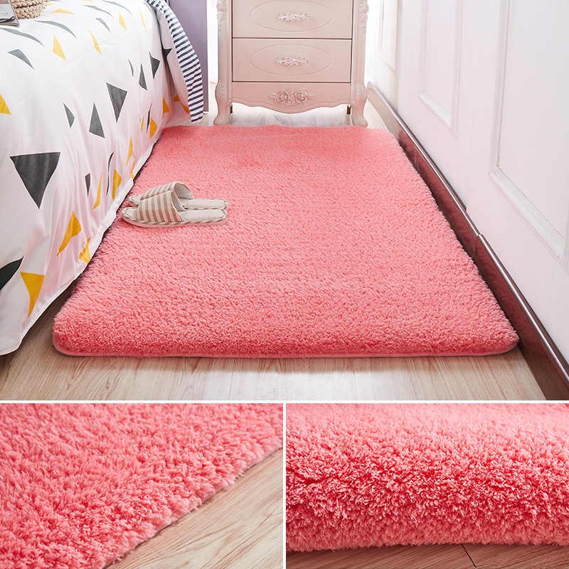 Nordic Thick Soft Lamb Carpet Bedroom