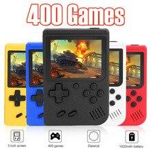 المحمولة الرجعية لعبة فيديو وحدة التحكم 3 بوصة شاشة LCD الرجعية لعبة وحدة التحكم 8 بت جيب صغير يده لعبة لاعب بنيت في 400 ألعاب