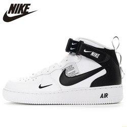Nike Air Force 1 Nuovi Uomini di Arrivo di Scarpe Da Pattini E Skate Anti-sdrucciolevole Cuscino D'aria Originale di Sport All'aria Aperta Scarpe Da Tennis #804609