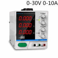 DC Laboratory Power Supply Adjustable USB Charging Repair Switching Regulated Power Supply PS-3010DF 4 Digit Display 30V 10A