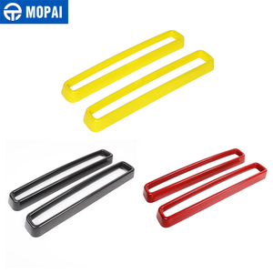 Image 5 - MOPAI Car Grille Air conditioning Vent Decoration Cover Stickers for Dodge Challenger 2015+ Exterior Accessories