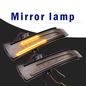 Image 4 - 1 pair Blinker Lamp For W221 W212 W204 W176 W246 X156 C204 C117 X117 Car Rear View Mirror Light LED Indicator Turn Signal Light