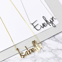 Pendant Necklace Chain Jewelry Choker Gift Custom Stainless Gold Leter Personalized Fashion
