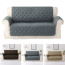 Waterproof Quilted Sofa Covers For Dogs Pets Kids Anti-Slip Couch Recliner Slipcovers Armchair Furniture Protector 1/2/3 Seater waterproof sofa cover 2019 new couch slipcover for pet kid recliner armchair anti slip furniture washable protector 1 2 3 seater