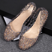 New Women's Sandals Summer Shoes Casual Jelly Female Bling M