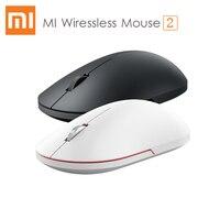 Xiao mi mi mouse sem fio 2 1000 dpi 2.4 ghz óptico cal o mi design de cal portátil mi ni mouse do jogo para computador portátil