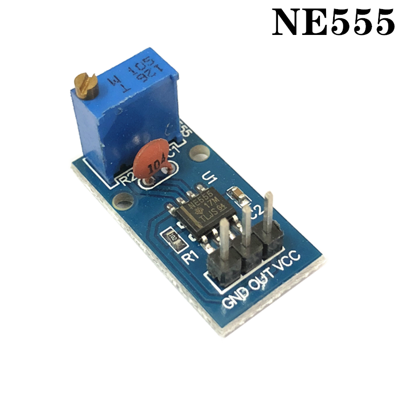 NE555 adjustable pulse generator module for smart cars, electronic products electronic accessories tantalum capacitor compatib