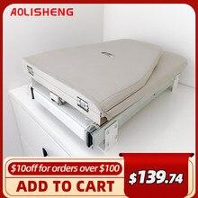 Aolisheng dobrável rotativa tábua de engomar móveis para casa armário de prateleira embutido mesa de tábua de engomar lateral