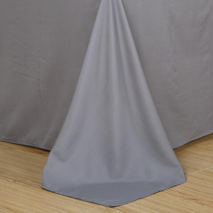 50Bedding Set 7 Size Grey Blue Pink Solid Bed Linen 4pcs/set Duvet Cover Sets Bed Sheet Ab Side Home Textile 2019