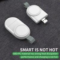 Mini Tragbare Drahtlose Ladegerät für Apple iWatch 1 2 3 4 5 Dock Adapter Schnelle Lade Ladegerät Smart Uhr Wireless lade Basis