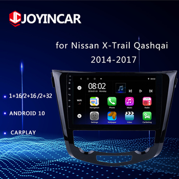 10.1 Android 10 Car Multimedia Player For Nissan X-TRAIL X Trail T32 Qashqai 2 J11 2014 2015 2016 2017 Radio DSP Bluetooth 2DIN image