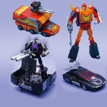 Robot de figura de acción MFT Transformation Rodimus Prime Pioneer MS19 MS-19 MS19B MS-19B con caja