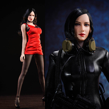 NEW in stock NRTOYS NR18 1/6 Scale Zombie Hitman Ada Wong dress set Model Fit Female Body Woman Head Sculpt