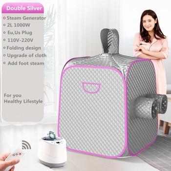 Steam Sauna Portable Sauna Room Bath Steam Generator Portable Sauna Lose Weight Detox Machine With Foot Hole  PrivateHome SPA