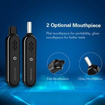 Airistech – Kit de cigarette électronique pour herbes sèches, 5G, stylo à vapoter avec batterie intégrée de 1000mAh