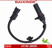 Sensor de posição do eixo de manivela de alta qualidade para hyundai kia 39180-2b000 39180-2b000 5s12470 pc934