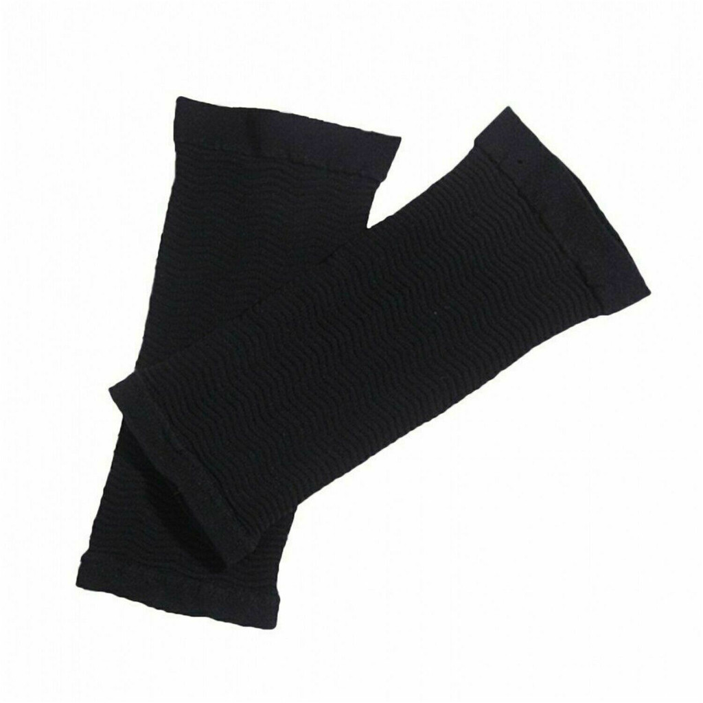 Toneup Arm Shaping Sleeves Women Elastic Shaperwear Slimming 420d Long Black Skin Color Sun Protection Beach Wear Women Sleeve