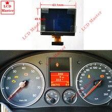 1 stücke LCD Display Bildschirm für VW Touran Passat Tiguan Golf 5 Caddy Jetta SITZ Toledo Instrument Cluster Dashboard Pixel reparatur