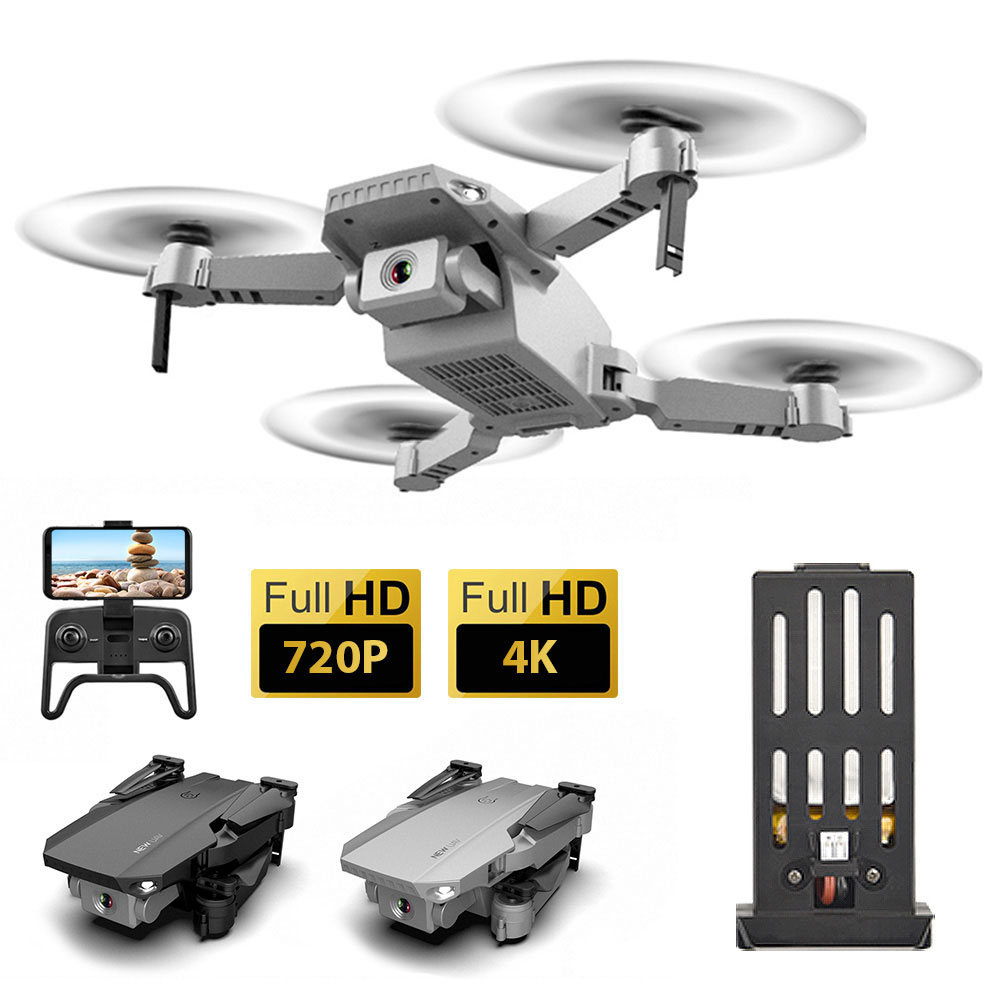 cheapest V4 Drone with Camera 4K HD WIFI FPV Foldable Mini Drone 20 Mins Profesional RC Dron Quadrocopter Quadcopter Drones for Beginner