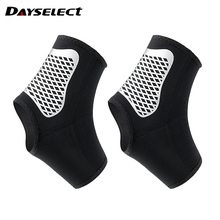 1 Pair Basketball Football Ankle Support Brace Weightlifting Sports Ankle Brace Support Gear Elastic Wraps Protector 1 pair compression ankle protectors anti sprain basketball football ankle brace supports straps bandage wrap heel protector