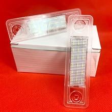 Luzes da placa de licença led para omega a b para vectra b para zafira a para signum combo para opel corsa f estate g saloon para corsa b
