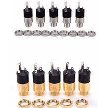 5 sztuk PJ392 Stereo kobiet Sockect Jack 3 5 słuchawki Audio złącze 3 5mm słuchawki Stereo Audio wideo gniazdo typu Jack wtyczki tanie tanio HUXUAN CN (pochodzenie)