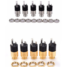 5PCS PJ392 Stereo Female Sockect Jack 3.5 Audio Headphone Connector 3.5mm Stereo Headphone Audio Video Jack Socket Plug 20pcs 3 5mm female audio connector 8 pin smt smd stereo headphone jack pj 313e