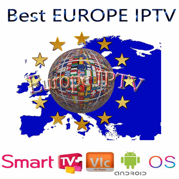 Newest most stable IPTV for Europe FULL HD android iptv TV box smart TV best stable a95x support smart iptv from europe 1 14m services android tv box olny a95 x smart tv set top box hot