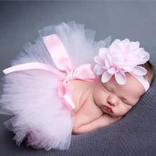 Infant Tutu Skirt Baby Photography Clothing Newborn Photography Props Baby Birth
