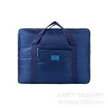 Sacos de armazenamento de viagem dobráveis, sacos de bagagem de grande capacidade, sacos de acabamento de roupas e sapatos para homem e mulher.