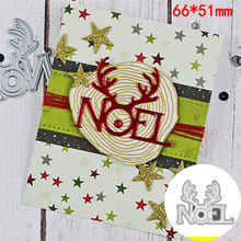 NewMetal Cutting Dies Mountain Elk Pine Grass Frame Embossing Stencil for DIY Scrapbooking Album Card Knife Mold Template Craft(China)
