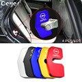 Ceyes 4 шт. автомобильные аксессуары авто украшение и защита дверной замок чехол для Opel Insignia Mokka Zafira Astra Авто Наклейка