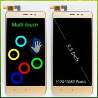 5.5 inch LCD Display for Xiaomi Redmi Note 3 Pro Special Edition SE 152mm Touch Screen Digitizer Assembly Frame +Tool