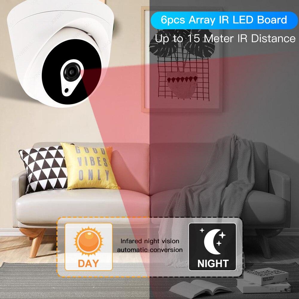 8ch 5MP POE Kits H.265 System CCTV Sicherheit PoE NVR Indoor dome IP Kamera Überwachung Alarm Video P2P P6Spro