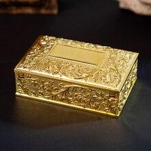 Antique Jewelry Case Vintage Design Jewels Holder Trinkets Organizer Box