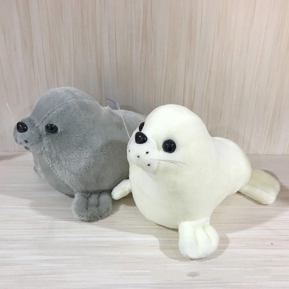 10inch Cute Stuffed Seal Animal Doll Toy Plush Bed Sofa Pillow Cushion Kids Gift L Reading Pillow For Birthday Gifts