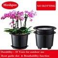 Сетка 8 дюймов  пластиковый горшок с орхидеей  цветочный горшок  садовый горшок  держатель для вазон  домашний декор  увеличение количества к...