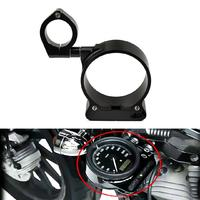 Motorcycle Speedometer Side Mounting Positioning Bracket Kit Motorbike Motocross Accessories For Harley Sportster 2004 2014